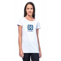 Horsefeathers NICKI white dámské tričko s krátkým rukávem - S