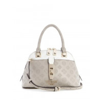 GUESS kabelka Peony Classic Mini Dome Satchel taupe vel.