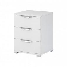Noční stolek Nea 3S bílý - FALCO