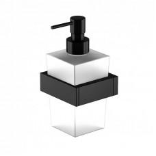 STEINBERG - Dávkovač tekutého mýdla, černá mat (460 8001 S)