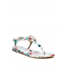 GUESS sandálky Carmela kvietkované bílé vel. 36