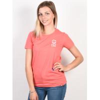 Spitfire STEADY ROCKIN CRL/WHT dámské tričko s krátkým rukávem - XL