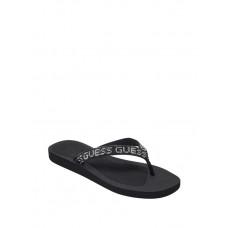 GUESS pantofle Tajah Rhinestone Flip Flops černé vel. 36
