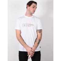 Billabong UNITY white pánské tričko s krátkým rukávem - L