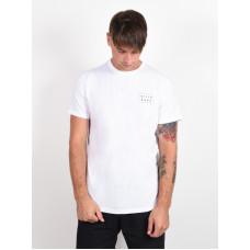 Billabong DIE CUT white pánské tričko s krátkým rukávem - M