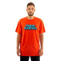 Horsefeathers MERCURY tomato red pánské tričko s krátkým rukávem - XXL