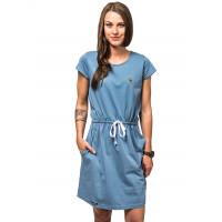 Horsefeathers ALYA BLUE SHADOW společenské šaty krátké - XS