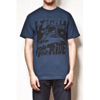 Vehicle PITSTOP blue pánské tričko s krátkým rukávem - S