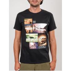 Ezekiel Boys Of Summer BLK pánské tričko s krátkým rukávem - S
