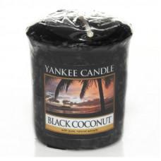 Yankee Candle Votivní svíčka Black coconut 49g