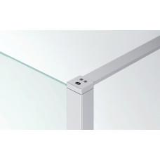 SanSwiss BTK1.01.1900 Stropní nebo stabilizační vzpěra + kotvicí a ukončovací profil, matný elox BTK1011900
