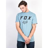 Fox Legacy Moth PALE BLUE pánské tričko s krátkým rukávem - S