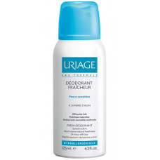 Uriage Hygiène deospray s 24 hodinovou ochranou (Alum Stone Natural Freshness with 24h efficacy) 125 ml