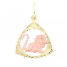 Zlato Zlatý přívěsek znamení zvěrokruhu 3220018 Znamení zvěrokruhu: Lev