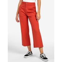 RVCA GRADE HOT CORAL plátěné sportovní kalhoty dámské - 26