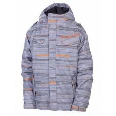 686 Smarty Streak Insula Gunmetal Streak dětská zimní bunda - L