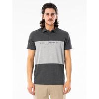 Rip Curl SECTIONS VAPORCOOL P DARK GREY MARLE pánské tričko s krátkým rukávem - L