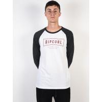 Rip Curl STRETCHED OUT black pánské tričko s dlouhým rukávem - M