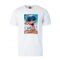 Horsefeathers VEGAS white pánské tričko s krátkým rukávem - XL
