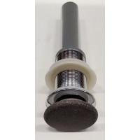 SAPHO - Výpust s betonovou zátkou, černý granit (NDBH7001)