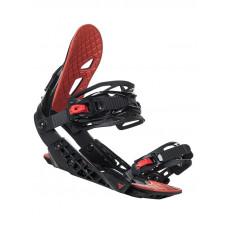 Gravity G2 BLACK/RED pánské vázání na snowboard - M