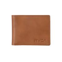 RVCA CREST BIFOLD TAN luxusní pánská peněženka