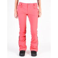 Volcom Battle Stretch BRIGHT ROSE zateplené kalhoty dámské - L