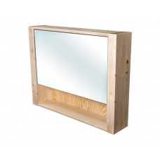 CEDERIKA - Bern galerka masiv smrk natur lak zrcadlo v AL rámu šíře 85 (CB.G1V.191.085)