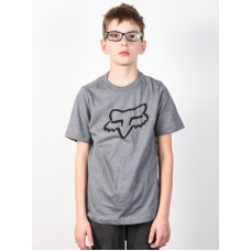 Fox Youth Legacy HEATHER GREY dětské tričko s krátkým rukávem - L