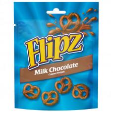 Flipz milk chocolate 100g