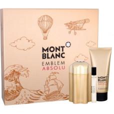 Mont Blanc Emblem Absolu M toaletní voda 100ml + SG 100ml + toaletní voda 7,5ml