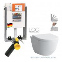JOMO - SET JOMOTech Modul pro zazdění LIGHT + sedátko + WC LAUFEN PRO LCC RIMLESS (164-14600479-00 LP2)
