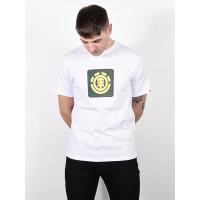 Element LEOPARD BLOCK ICON OPTIC WHITE pánské tričko s krátkým rukávem - L