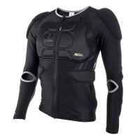 Chráničové tričko O´Neal BP dlouhý rukáv černá XXL - černá / S - 0289-402