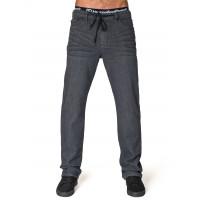 Horsefeathers ASPHALT DARK GRAY značkové pánské džíny - 34