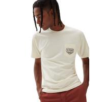 Vans DAKOTA ROCHE LOGO SEEDPEARL pánské tričko s krátkým rukávem - XL