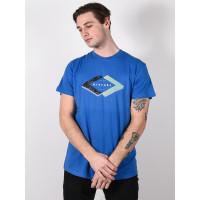 Rip Curl QUOTED BLUE STAR pánské tričko s krátkým rukávem - M