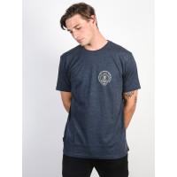 Animal HOY DARK NAVY MARL pánské tričko s krátkým rukávem - M