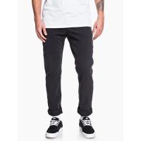 Quiksilver KRANDY black plátěné sportovní kalhoty pánské - 36