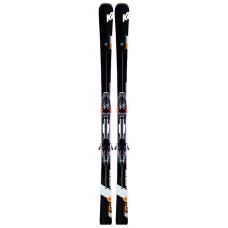 Pánské lyže K2 SPEED CHARGER + MXCELL 14 TCX D black - flo-red SET (2019/20) velikost: 168 cm