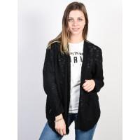 Roxy LIBERTY DISCOVER TRUE BLACK luxusní dámský svetr - L
