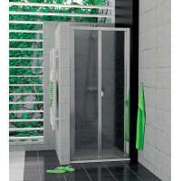 SanSwiss TOPK 0800 50 44 Zalamovací dveře 80 cm, aluchrom/cristal perly