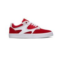 Dc KALIS VULC RED/WHITE pánské letní boty - 44,5EUR