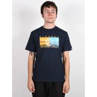Element SENTINEL ECLIPSE NAVY pánské tričko s krátkým rukávem - XL
