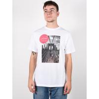 Rip Curl GD/BD OPTICAL WHITE pánské tričko s krátkým rukávem - XL