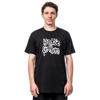 Horsefeathers ORIGINAL black pánské tričko s krátkým rukávem - M