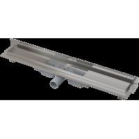 Alcaplast APZ104-1050-LOW podlahový žlab ke zdi v.55mmSNÍŽENÝ min. 1100mm kout (APZ104-1050)