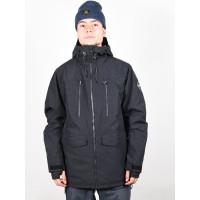 Quiksilver FAIRBANKS TRUE BLACK zimní bunda pánská - M