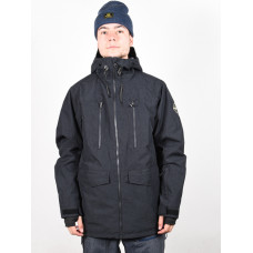 Quiksilver FAIRBANKS TRUE BLACK zimní bunda pánská - L