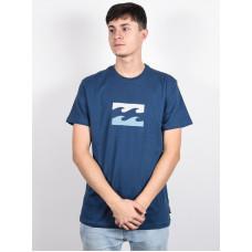 Billabong TEAM WAVE dark blue pánské tričko s krátkým rukávem - M